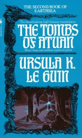 Paperback cover of The Tombs of Atuan