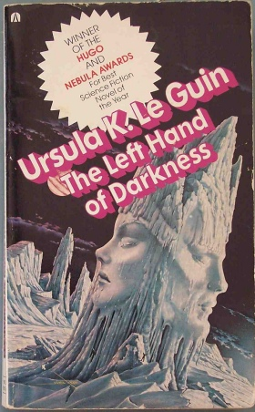 Paperback cover of The Left Hand of Darkness