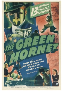 Poster of The Green Hornet movie serial.