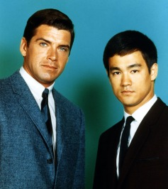 The Green Hornet (ABC) 1966-1967 Shown from left: Van Williams, Bruce Lee