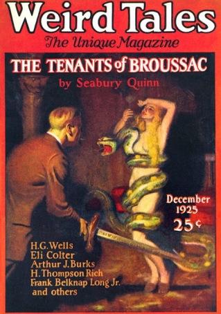 Seabury Quinn Weird Tales Cover-1925-12-2