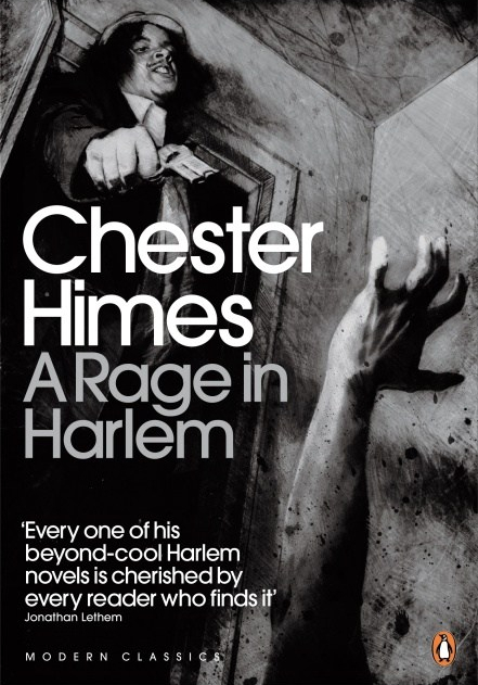 Cover of Chester Himes novel A Rage in Harlem
