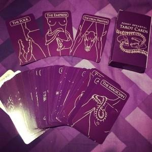 Penny Dreadful Tarot Cards