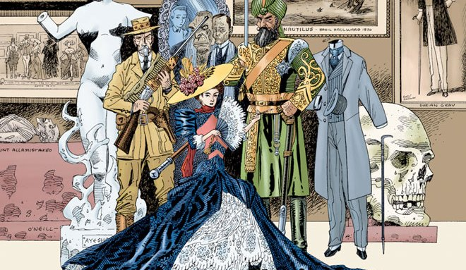 The League of Extraordinary Gentlemen from the comic series