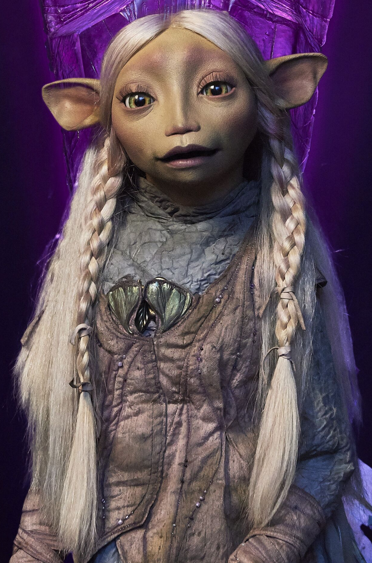 Brea, one of the main characters, voiced by Anya Taylor-Joy